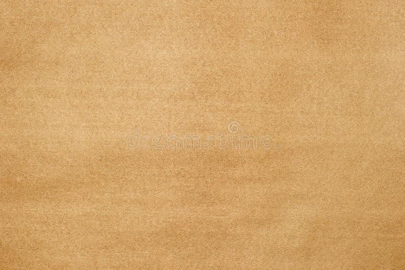 金黄纸纹理。 免版税图库摄影