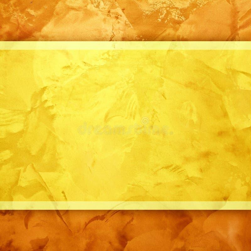 金黄背景的设计 库存图片