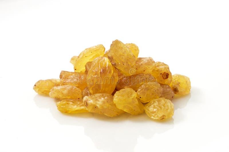金黄葡萄干 库存图片
