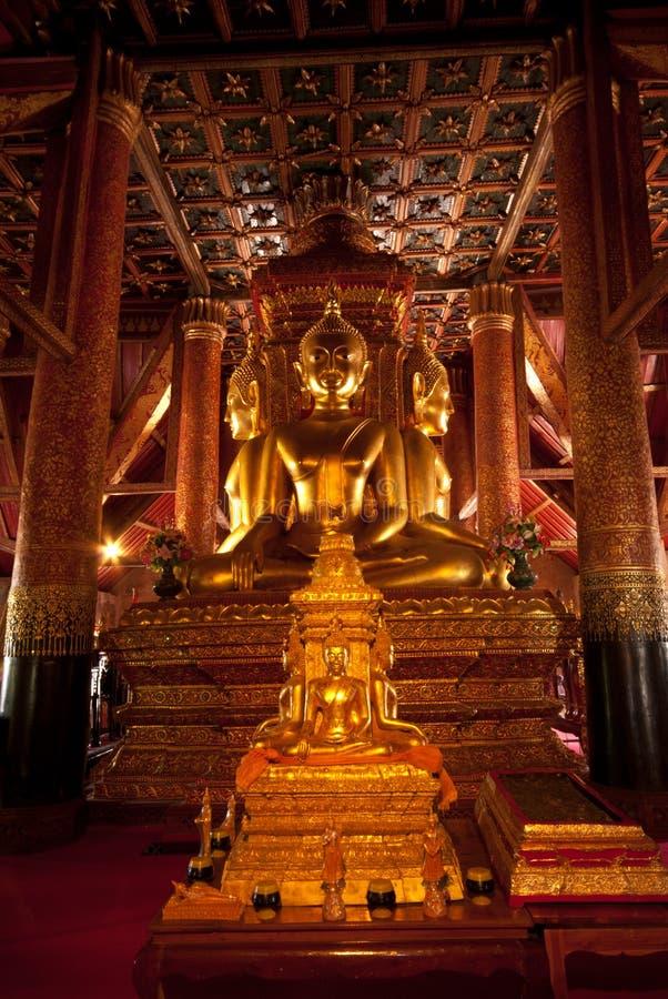 金黄四Buddhas。 免版税库存图片