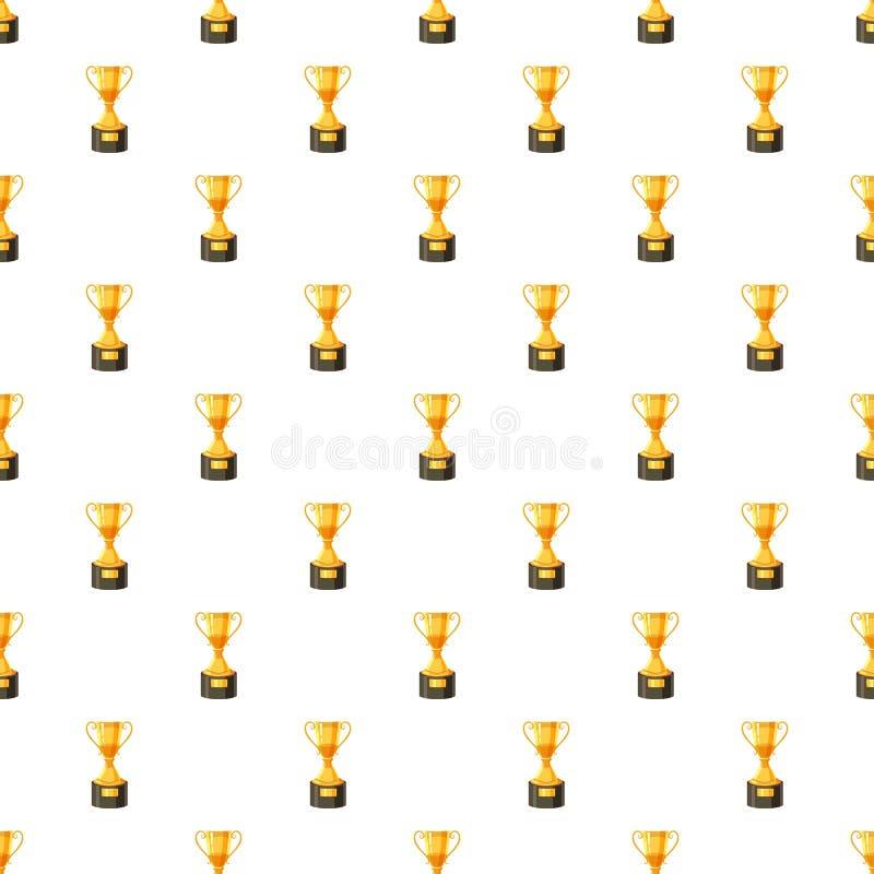 金黄战利品杯子样式 库存例证