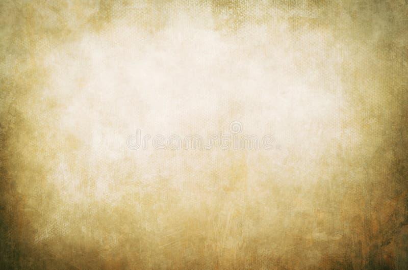 金黄抽象帆布背景 库存图片