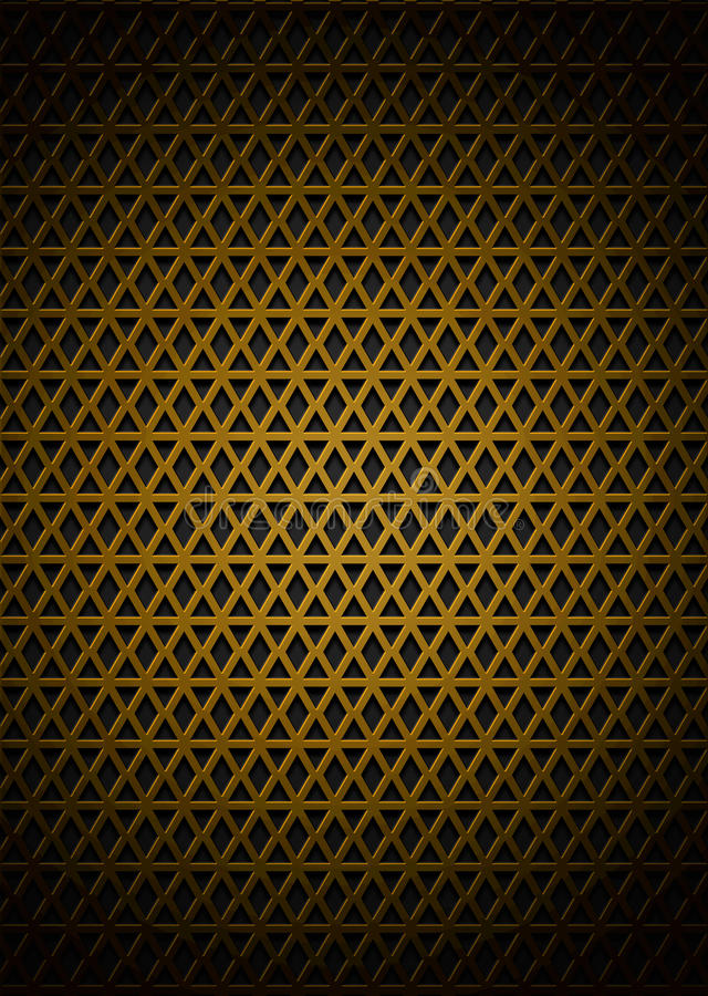 金黄样式 向量例证