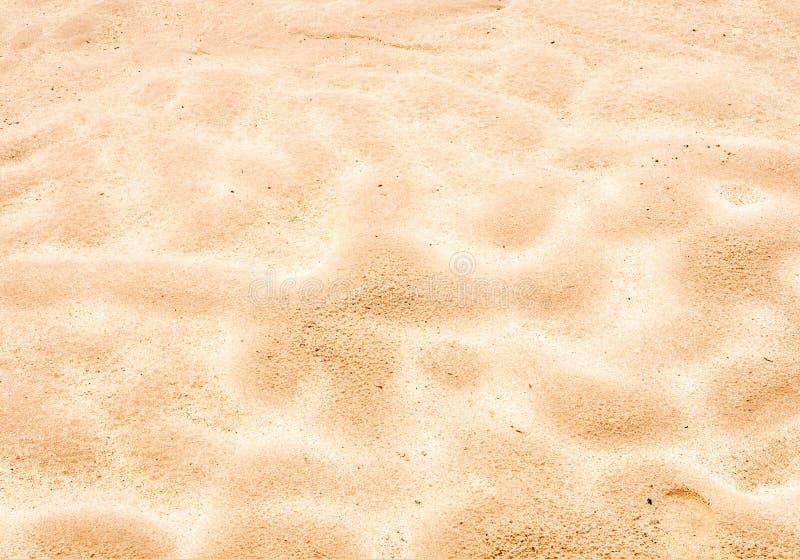 金黄沙子 免版税图库摄影