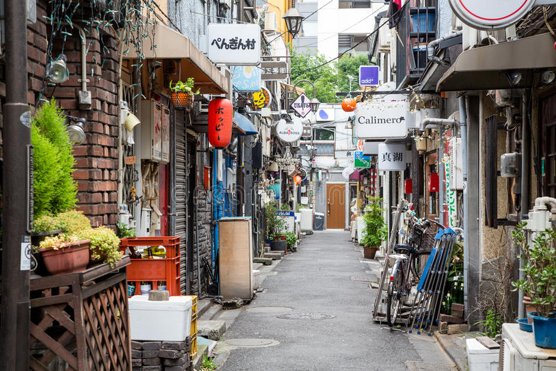 金黄盖氏在新宿,东京 免版税图库摄影