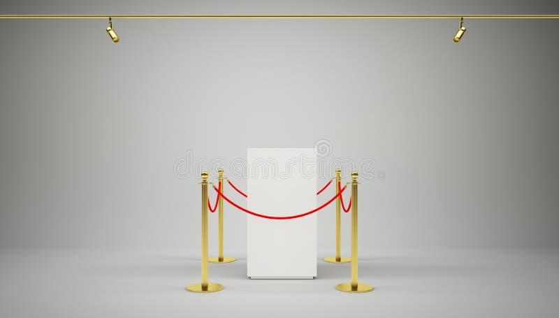 Download 金黄篱芭,有红色障碍绳索的柱子 库存例证. 插画 包括有 仪式, 背包, 陈列, 安排, 平台, 可怕的 - 72354548