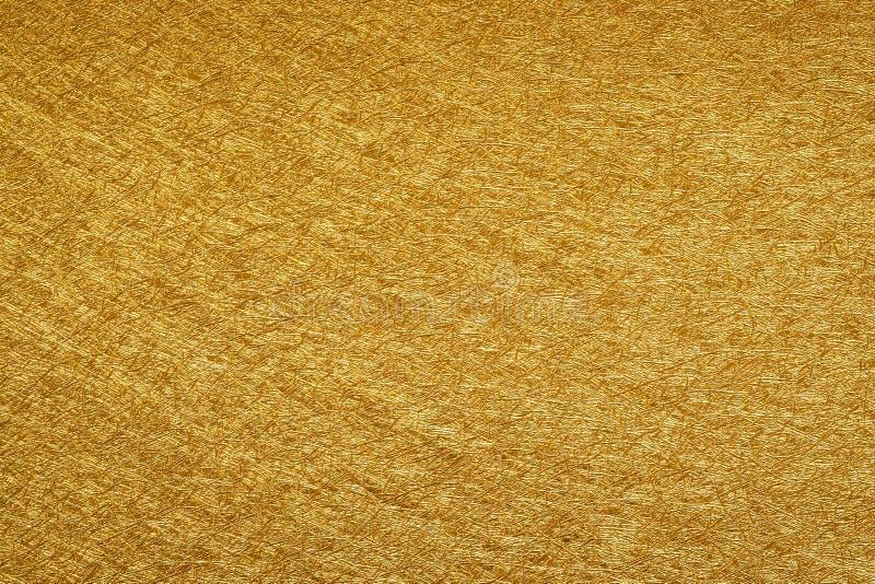 金黄纹理背景 库存图片