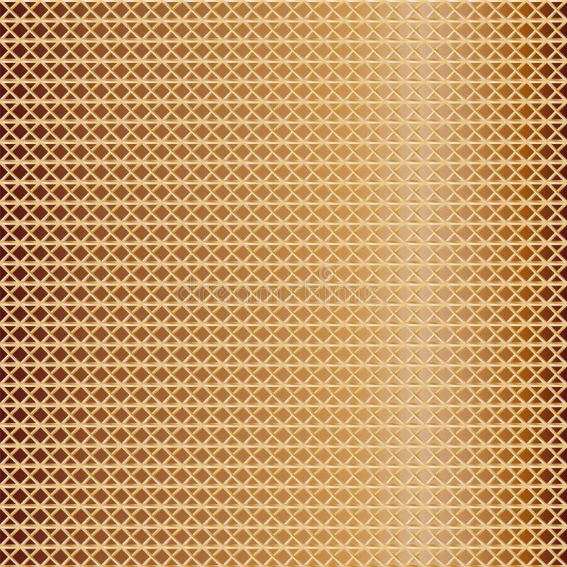 金黄滤网的样式 皇族释放例证