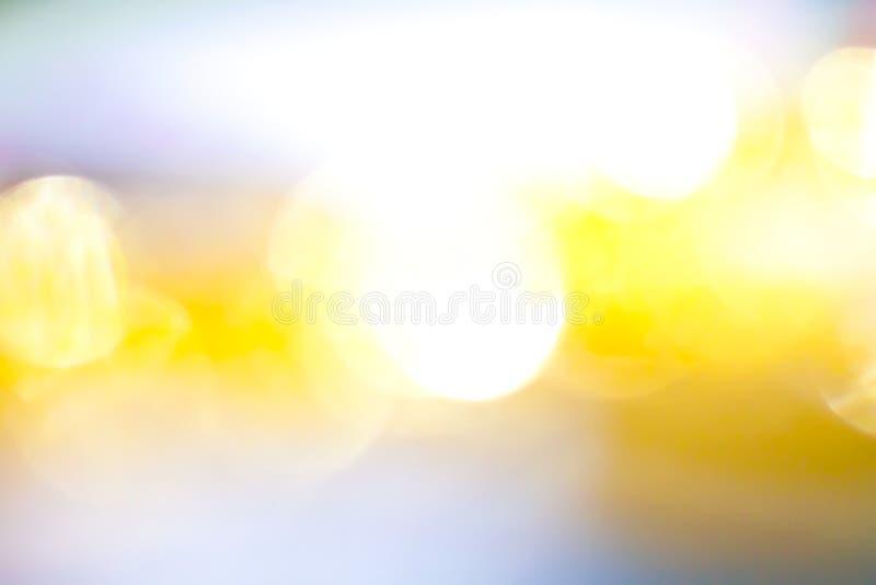 金黄颜色摘要模糊的照片背景纹理 库存照片