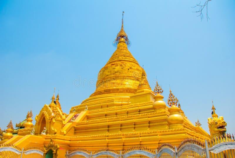 Download 金黄stupa Kuthodaw塔在曼德勒,缅甸 缅甸 库存图片 - 图片 包括有 历史记录, 的btu: 72365383