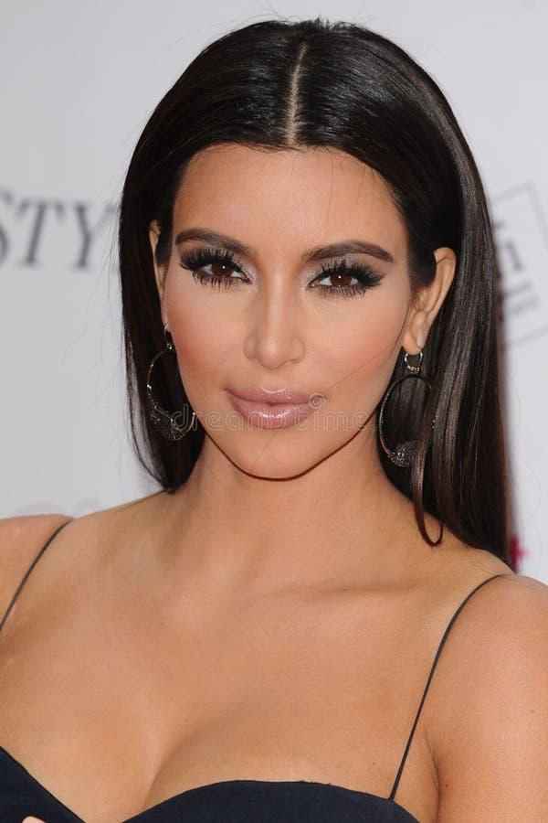 金Kardashian 库存图片