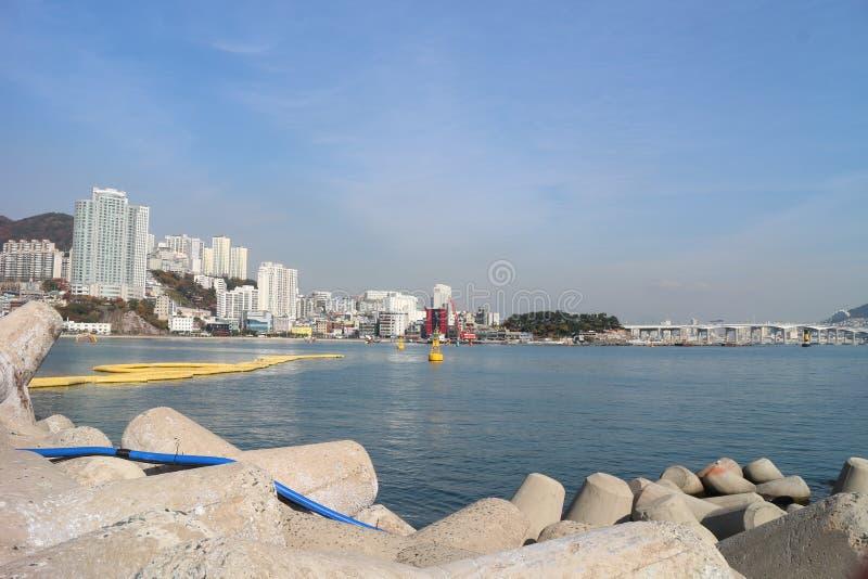 釜山海洋 库存照片