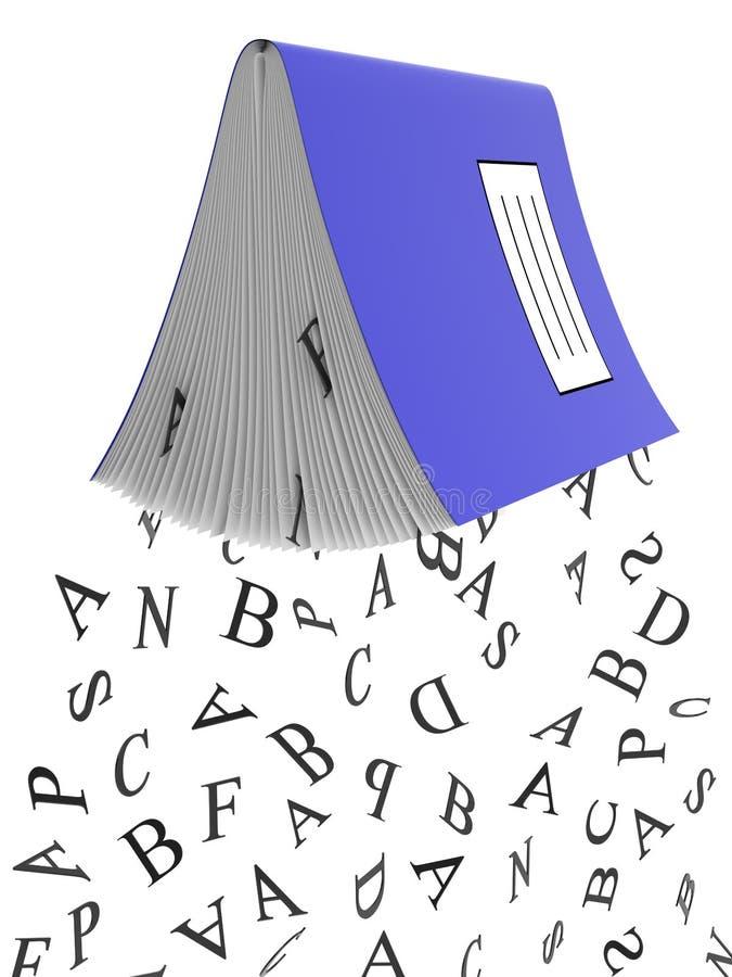 鉴定落的笔记本学校 向量例证