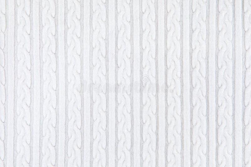 针织品织品纹理 免版税库存照片