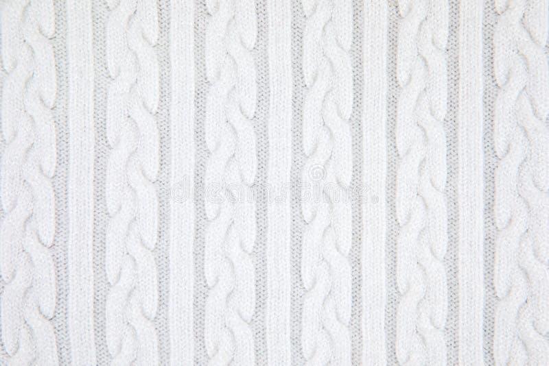针织品织品纹理 免版税图库摄影