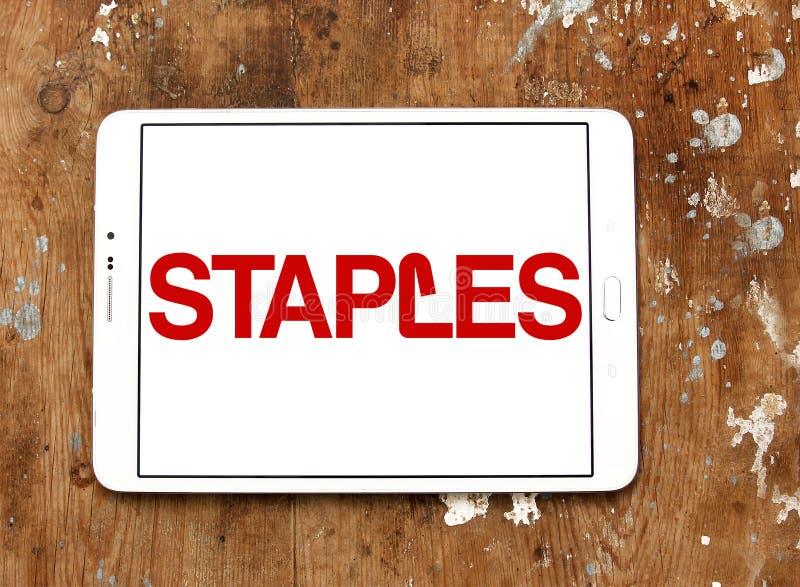 钉书针品牌商标 免版税库存照片