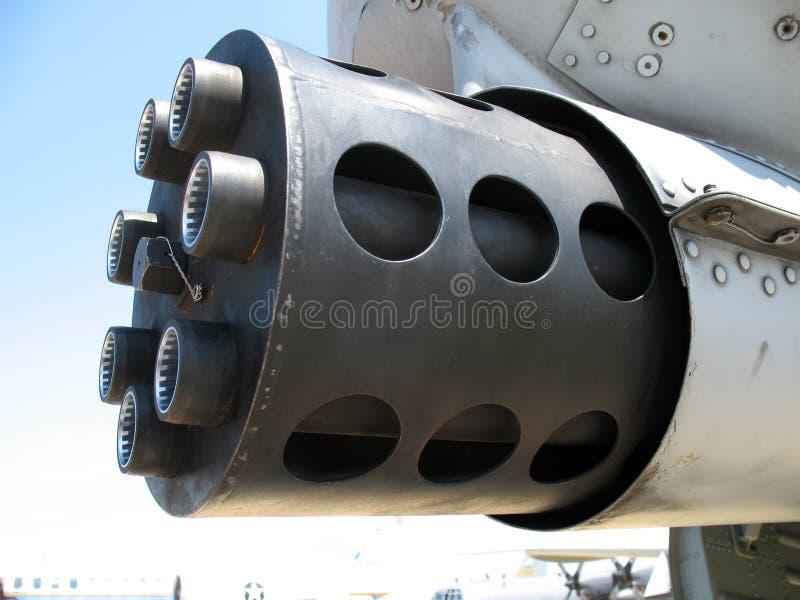 钉头切断机链枪坦克 免版税库存图片