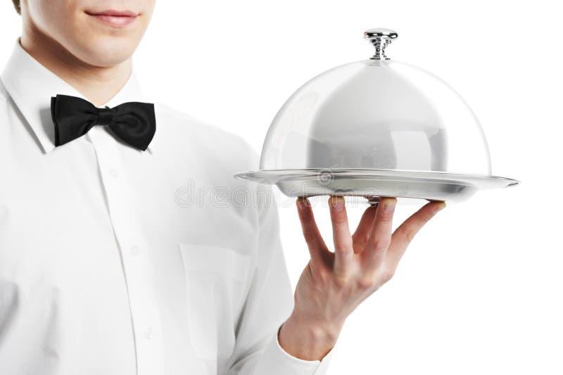 钓钟形女帽现有量盒盖等候人员 免版税库存图片