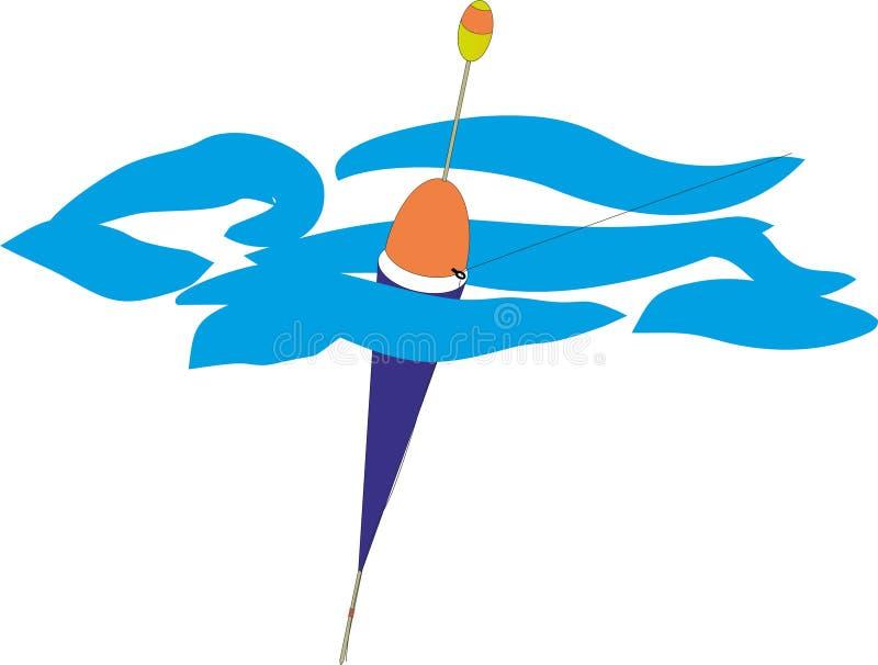 钓鱼浮游物 免版税库存图片