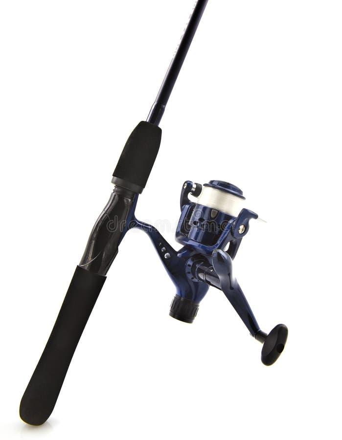 钓鱼竿和卷轴 免版税图库摄影