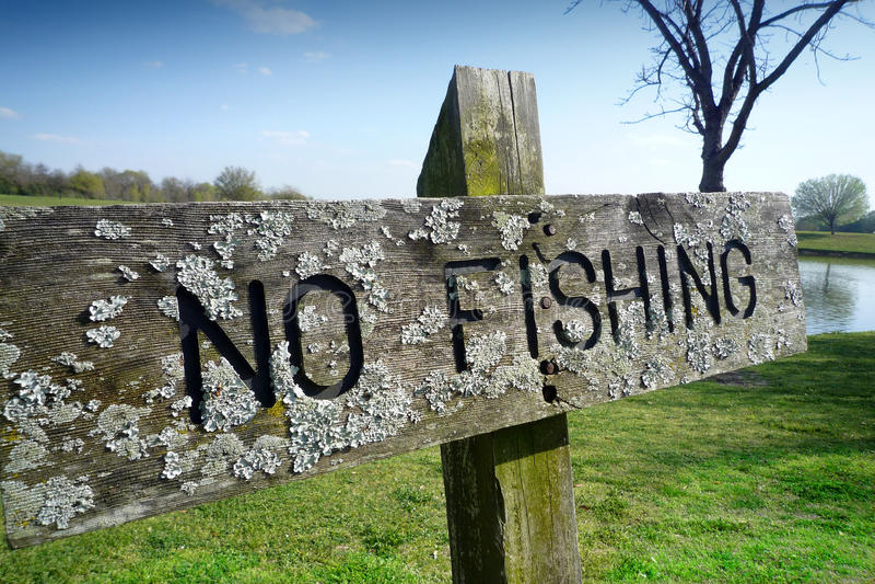 钓鱼符号 免版税库存图片