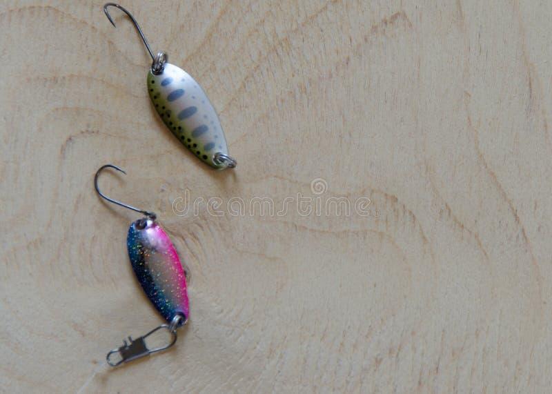 钓鱼诱剂 设备 库存图片