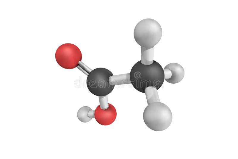 钙醋酸盐,是钙盐的一个化合物 库存图片