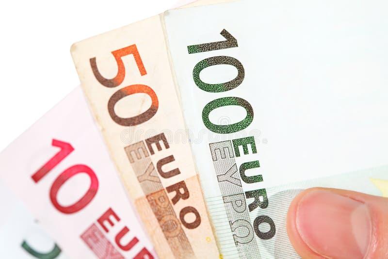 钞票欧洲现有量藏品 图库摄影