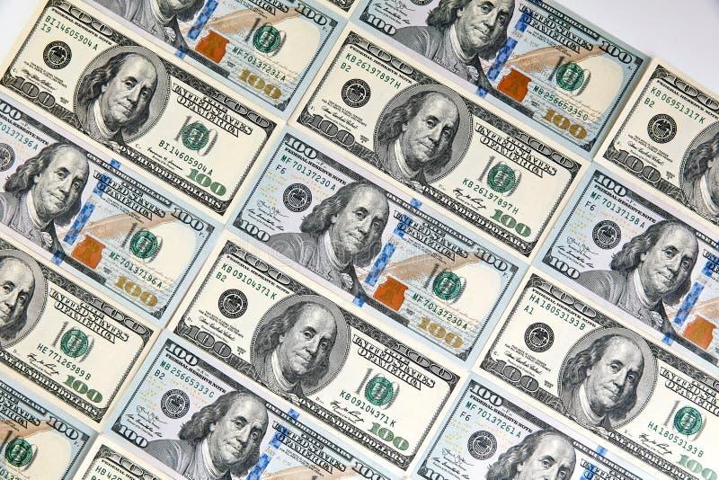 钞票美元一百一 美元特写镜头概念 大使 免版税库存照片