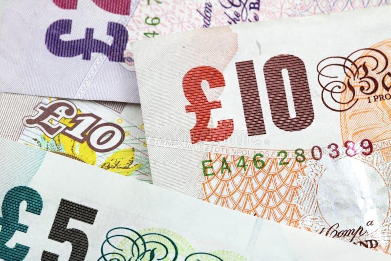 钞票英镑 图库摄影