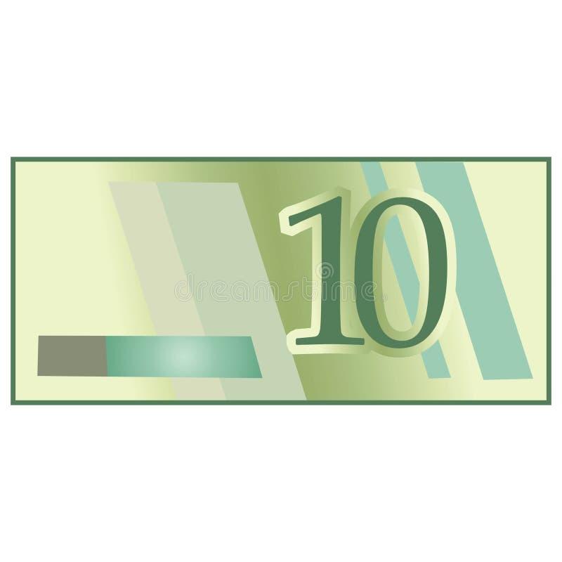 钞票 皇族释放例证