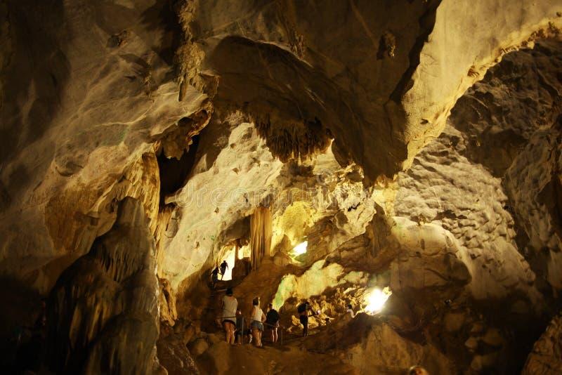 钟乳石洞 库存图片