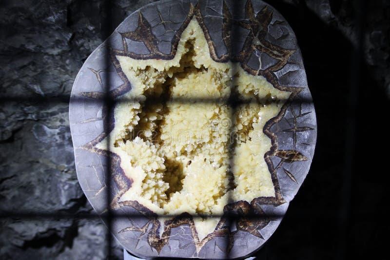 钟乳石洞 免版税图库摄影