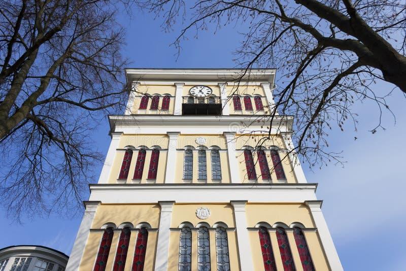 钟塔。 免版税图库摄影