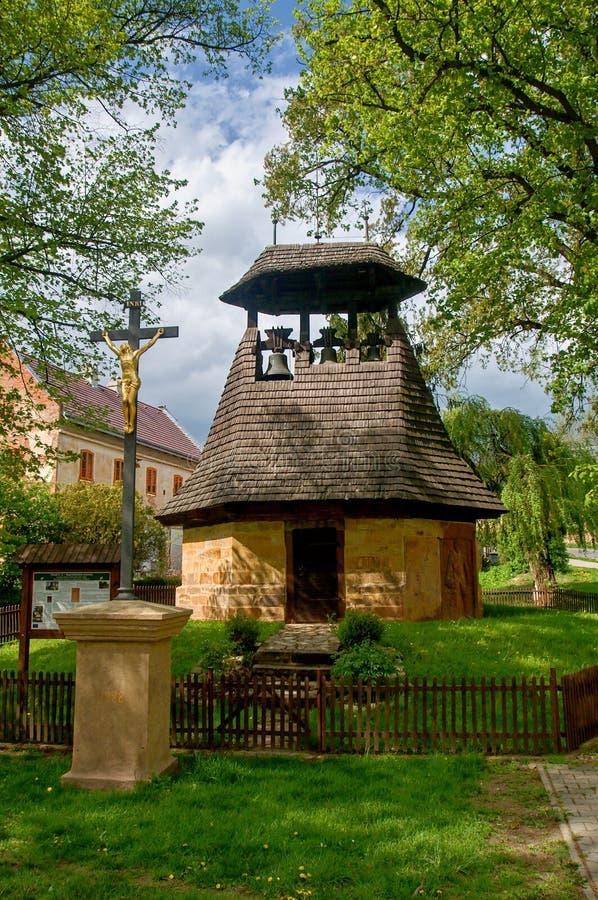 钟楼在Neprobylice 库存照片