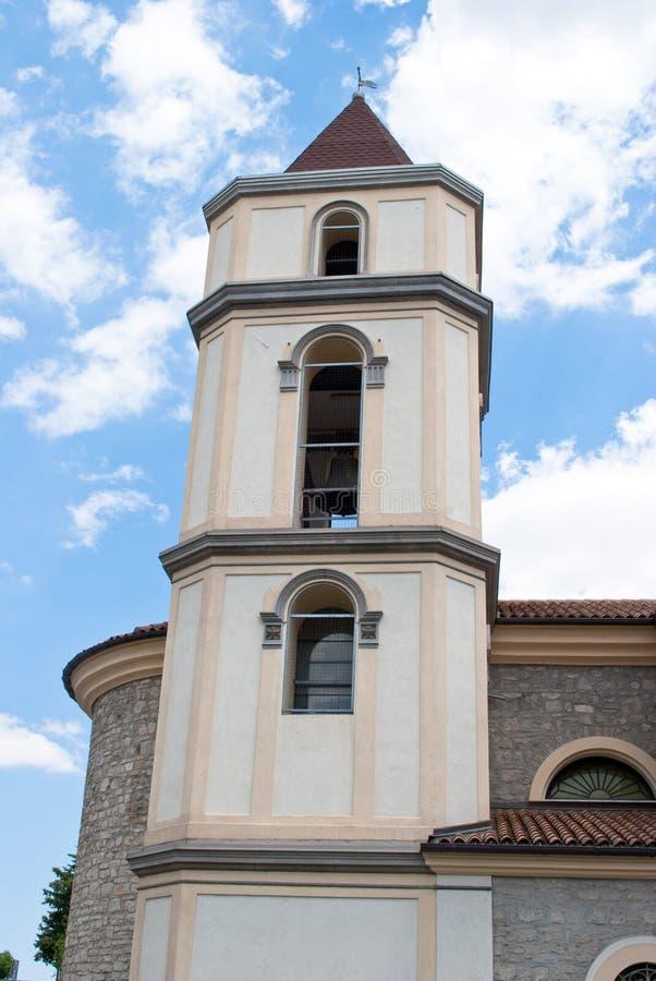 钟楼大教堂波滕扎市 免版税图库摄影
