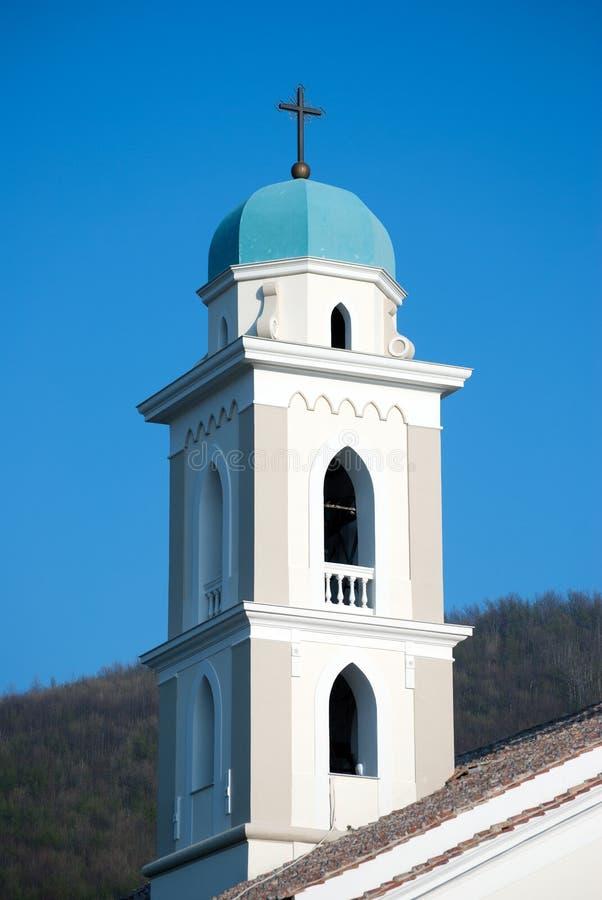 钟楼大教堂菲夏诺镇 库存照片