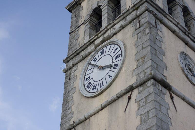 钟楼时钟 库存图片