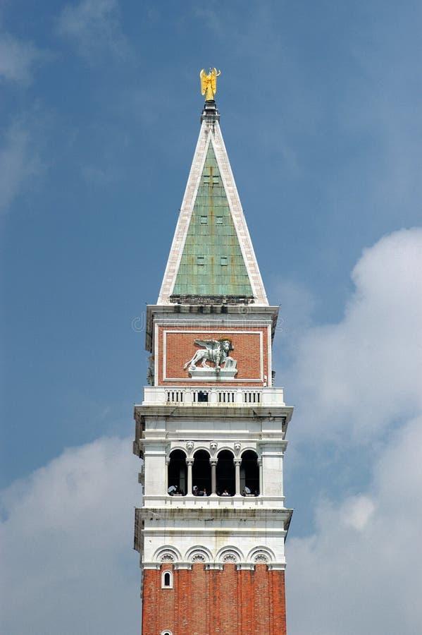 钟楼标记s圣徒 免版税库存图片