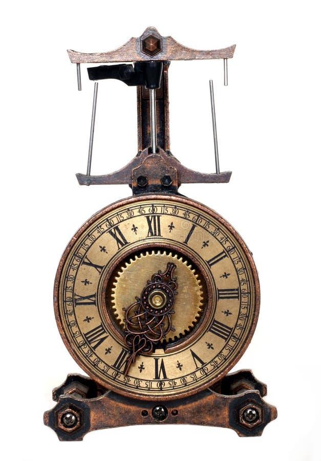 钟表机构 免版税库存照片