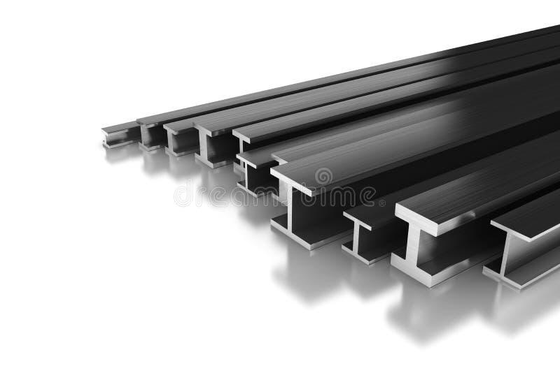 钢外形 库存例证
