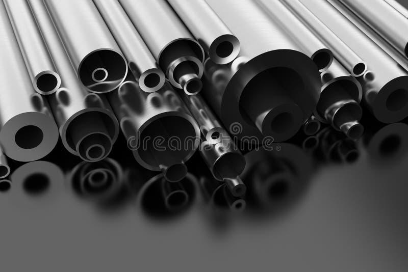 钢外形 向量例证