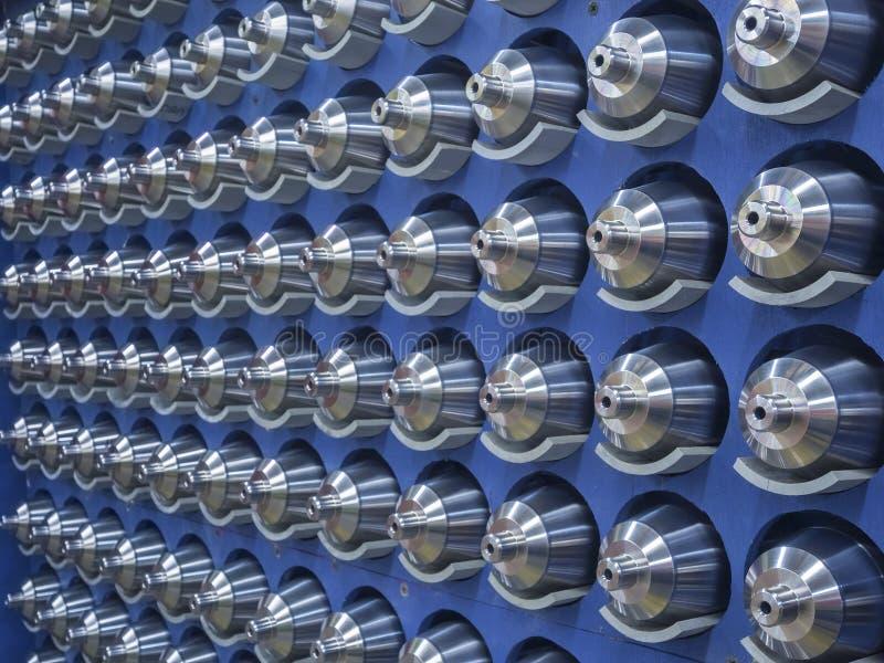 钢机器零件 皇族释放例证