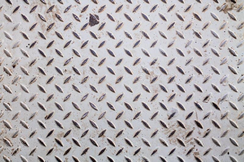 钢板滑动老金属地板板料 库存照片