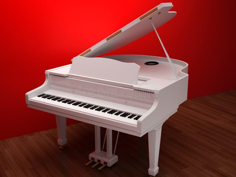 钢琴 库存例证