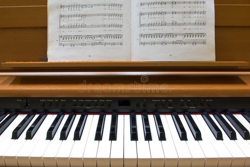 钢琴 库存照片