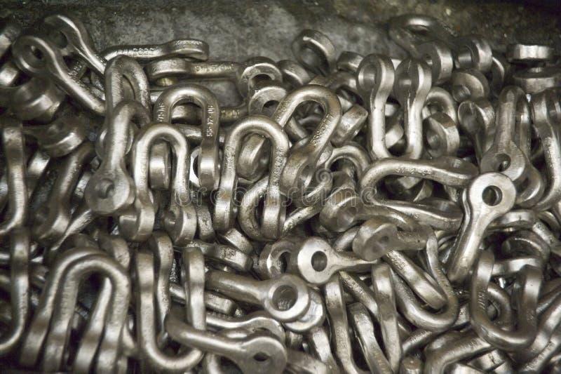 钢的产品 免版税库存照片