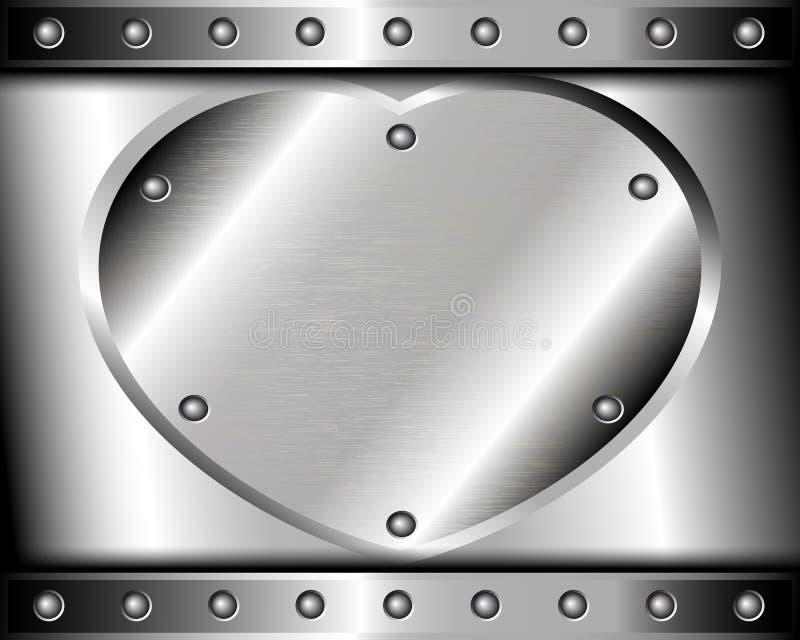 Download 钢的心脏在金属背景的 向量例证. 插画 包括有 铆钉, 框架, 对象, 投反对票, 计算机, 图象, 粗砺 - 30334310