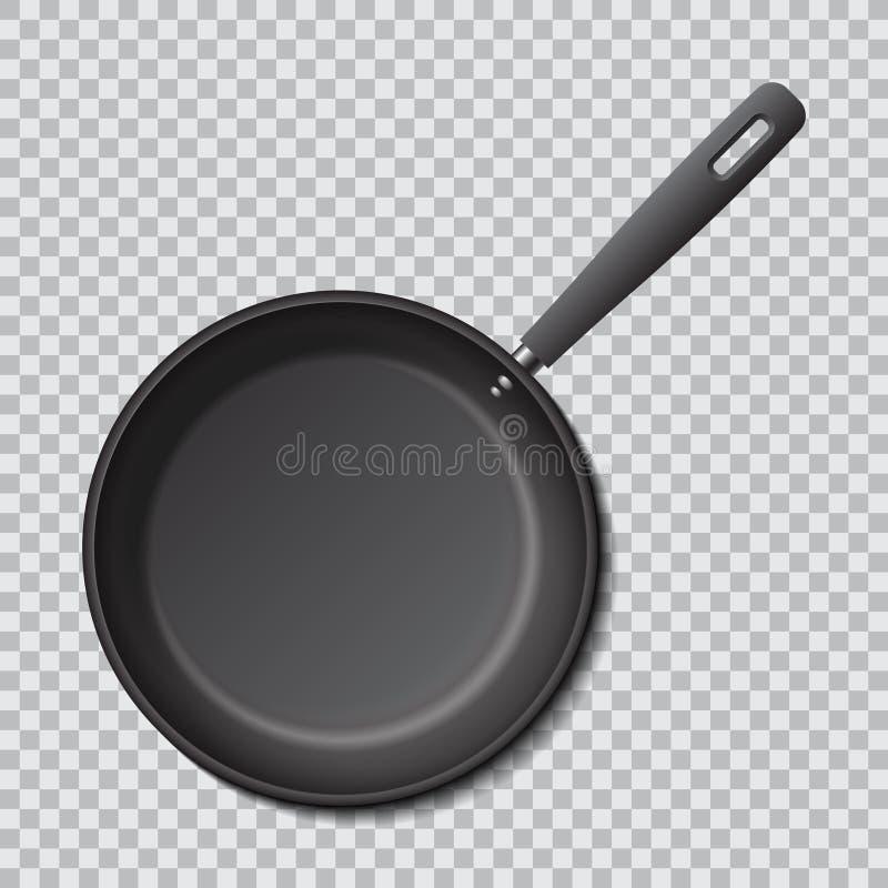 钢空的煎锅 现实传染媒介大模型 向量例证
