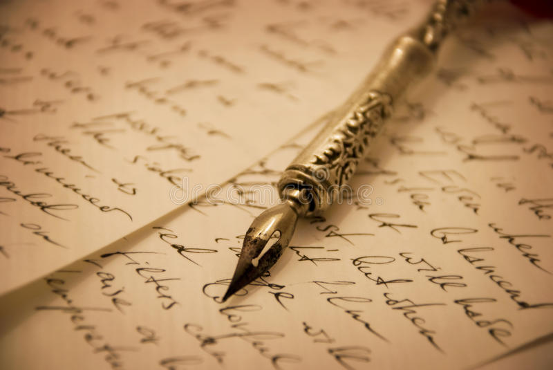 钢笔 免版税库存图片
